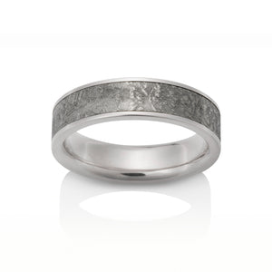 Sirius Meteorite Ring by Chris Ploof - 14k White Gold - Talisman Collection Fine Jewelers