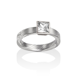 Audrey Engagement Ring by Chris Ploof - Talisman Collection Fine Jewelers