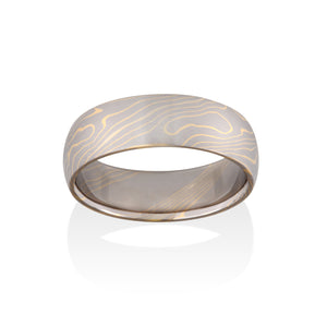 Aspen Mokume Ring by Chris Ploof