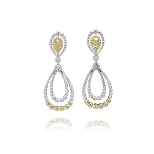 Beaded Drop Earrings by Vahan - Talisman Collection Fine Jewelers
