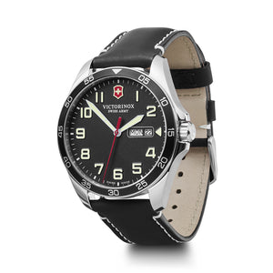Victorinox Swiss Army Black Fieldforce Watch - Talisman Collection Fine Jewelers