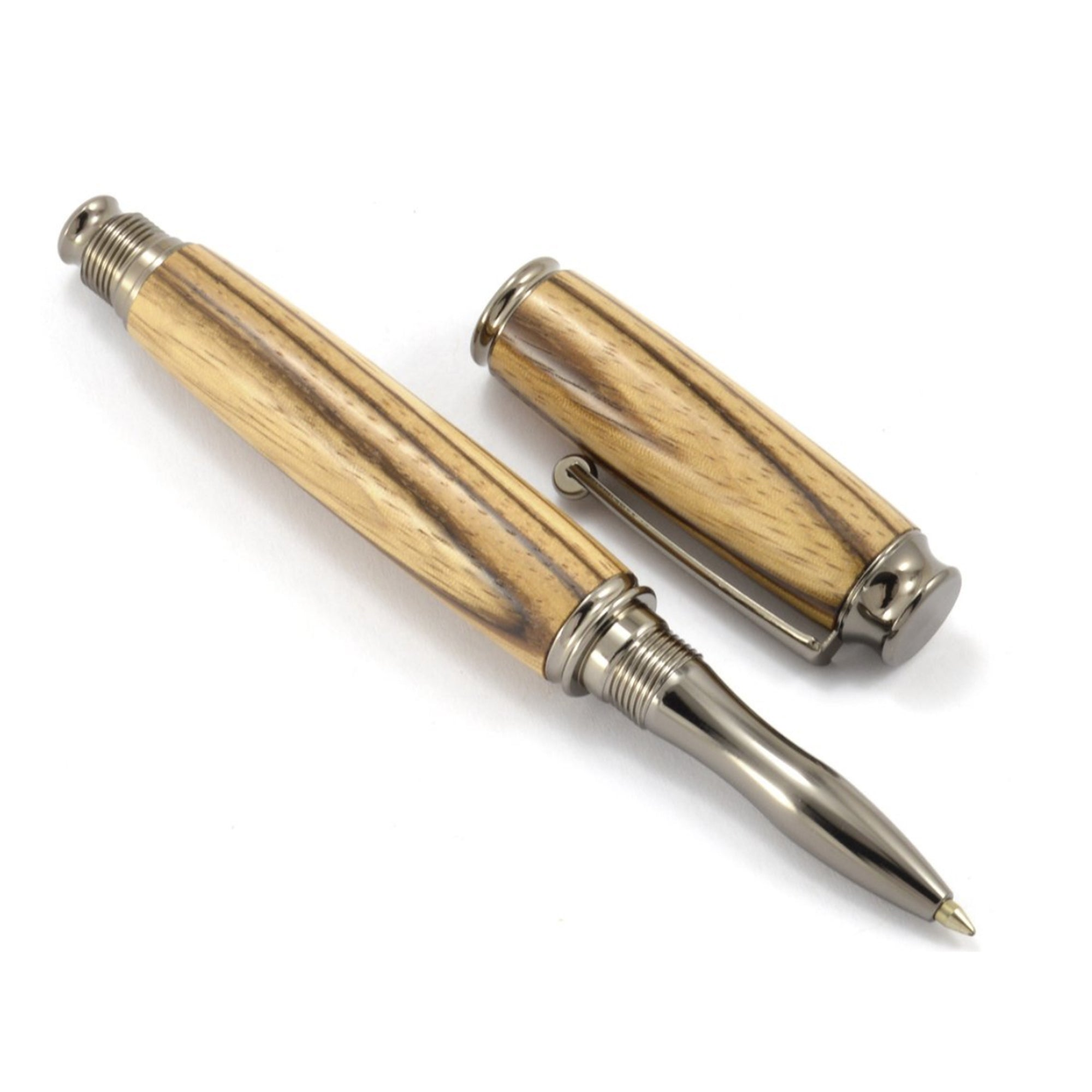 Zebrawood Ink Pen - Talisman Collection Fine Jewelers