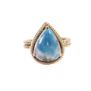Paraiba Tourmaline, 14k Rose Gold Ring by Vivaan - Talisman Collection Fine Jewelers