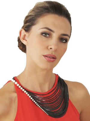 Convertible Pearl Necklace by Melanie Georgacopoulos - Talisman Collection Fine Jewelers