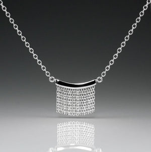 Small Fringe Necklace - Silver - Talisman Collection Fine Jewelers