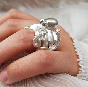 Octopus Ring by Manya & Roumen - Talisman Collection Fine Jewelers