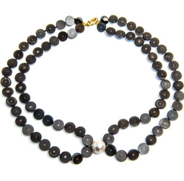 Melanie Georgacopoulos Sliced South Sea Pearl Necklace - Talisman Collection