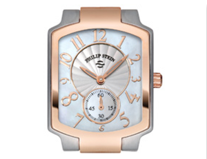Philip Stein Rose Gold, Stainless and Mother of Pearl Classic Watch 21TRG-FW - Talisman Collection Fine Jewelers