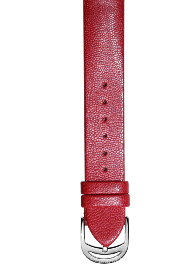 Philip Stein Prestige Red Watch Strap, Size 11 - Talisman Collection Fine Jewelers