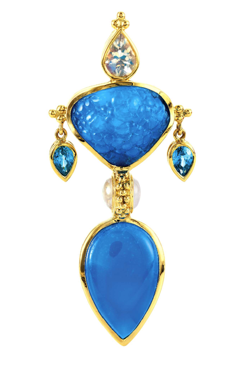 """Heaven"" Necklace, Pendant & Enhancer by Paula Crevoshay - Talisman Collection Fine Jewelers"