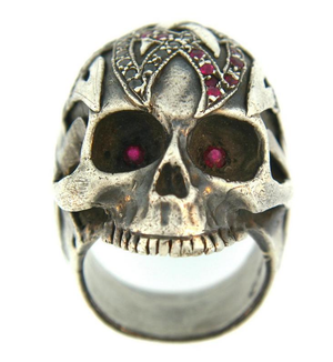 Atelier Minyon Alp Sagnak Signature Skull Ring - Talisman Collection Fine Jewelers