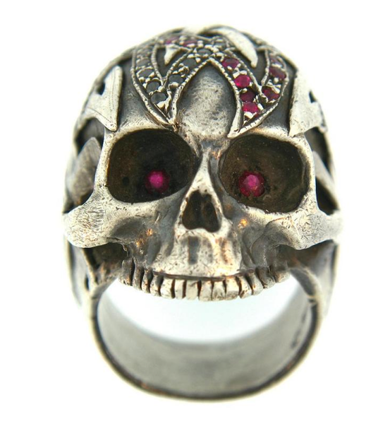 Atelier Minyon Signature Skull Ring