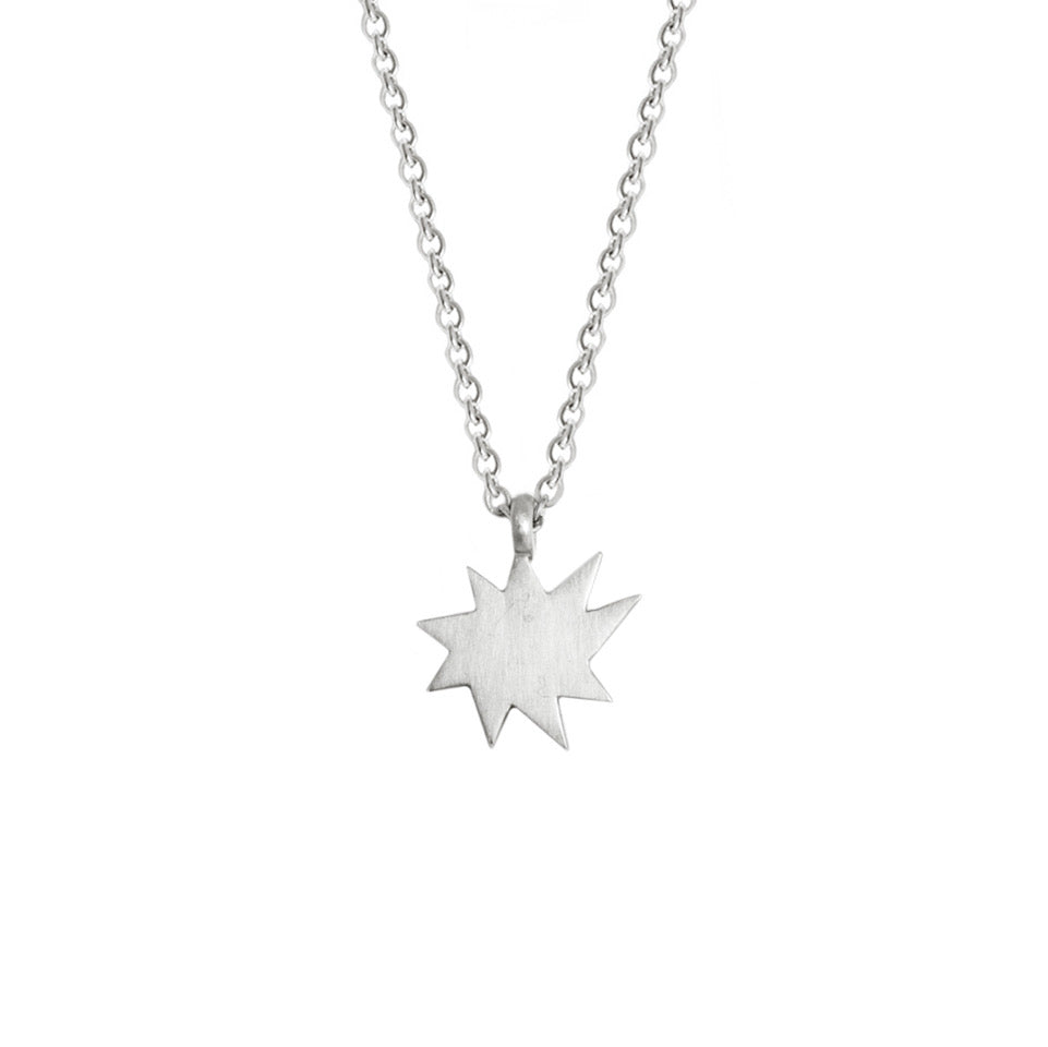 Silver Mini Stella Nova Necklace