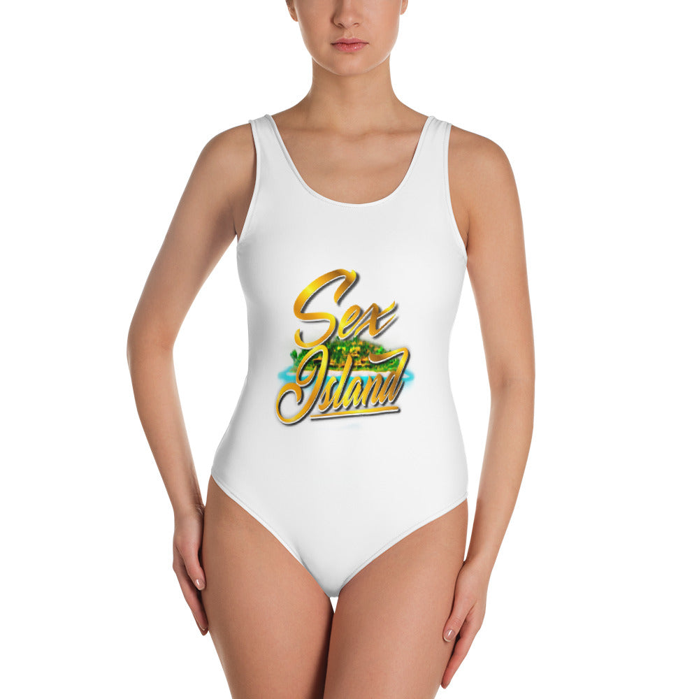 One-Piece Swimsuit Sexisland