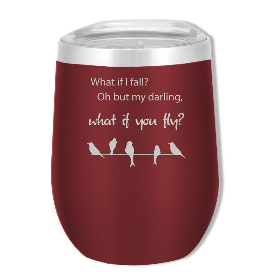 SOHO 12 OZ What If I Fall - Mama Bear Drinkware
