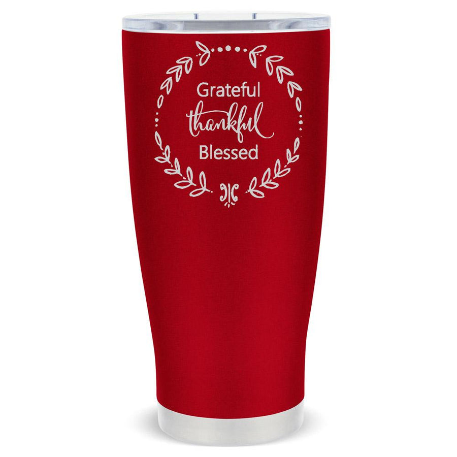 KENDAL 20 OZ Grateful Thankful - Mama Bear Drinkware
