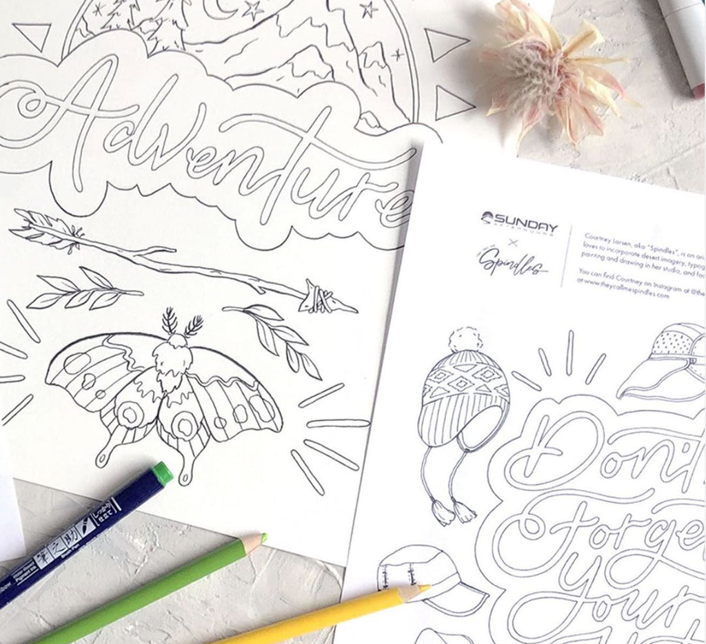 Customised Colouring Pages
