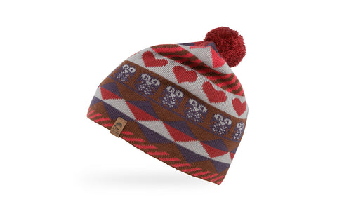 Kids Hearts and Owls Beanie