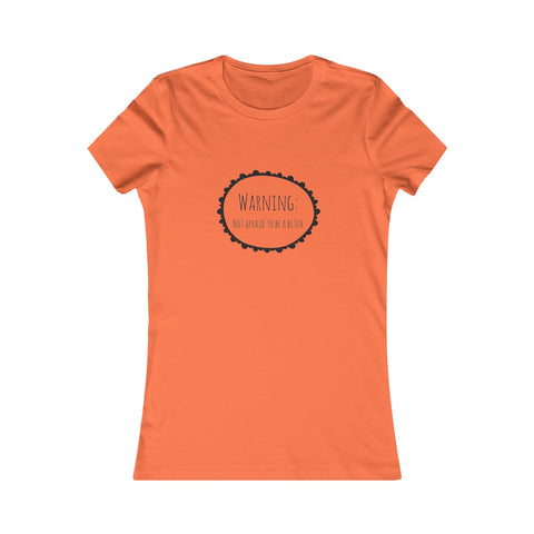 Warning Women's Favorite Tee