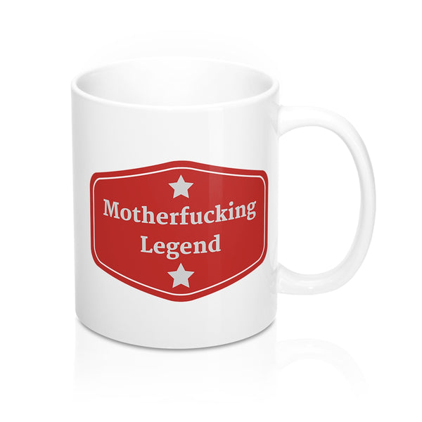 MF Legend Badge Mug 11oz