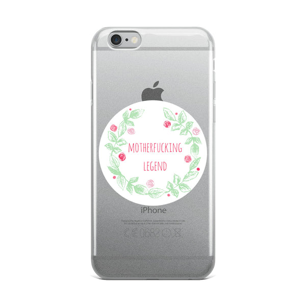 Legend Flower iPhone Case