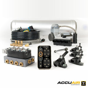 AccuAir E-LEVEL AIR MANAGEMENT PACKAGE W/ TOUCHPAD - Redline Motorworks