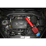 AEM 2015 Volkswagen Golf GTI 2.0L Cold Air Intakes System Wrinkle Red - Redline Motorworks