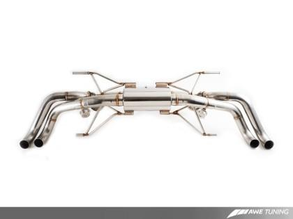 AWE Tuning Audi R8 4.2L Coupe SwitchPath Exhaust - Redline Motorworks