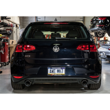 AWE Tuning Track Edition Cat-back Exhaust w/ Chrome Silver Tips (15+ GTI) - Redline Motorworks