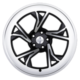 Radi8 Wheels r8c5 | 19x8.5 | 5x120 | ET35 | Black/Machine Face - Redline Motorworks