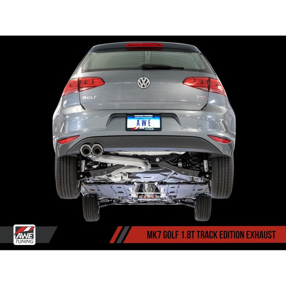 AWE Tuning VW MK7 Golf 1.8T Track Edition Exhaust - Redline Motorworks