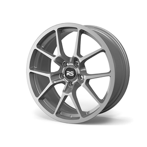 Neuspeed 19x9 ET40 5x112 RSe10 Light Weight Wheel Gloss Machined Silver - Redline Motorworks