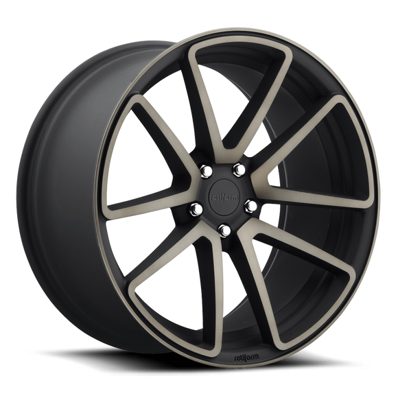 Rotiform SPF Wheels Black Machined 18x8.5 | 5x112 | ET35 - Redline Motorworks