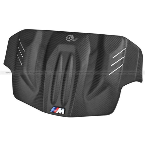 aFe Power Matte Carbon Fiber Engine Cover BMW M5 F10 - Redline Motorworks
