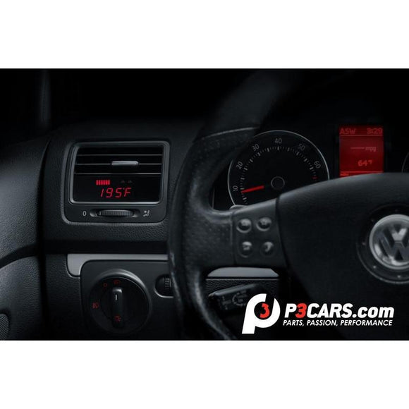 P3 Cars Volkswagen Mk5 GTI, R32, Jetta Integrated Vent Digital Boost Gauge Interface - Redline Motorworks