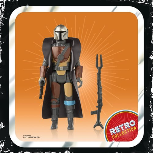 Star Wars The Mandalorian The Retro Collection Action Figures Wave 1 set of 7 figs