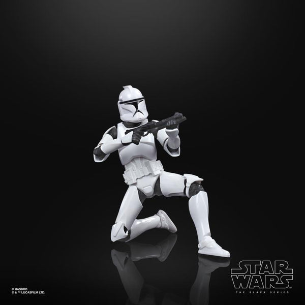 "Star Wars: The Black Series 6"" Clone Trooper (Clone Wars) Figure"