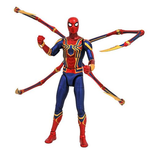 Marvel Select Avengers: Infinity War Iron Spider-Man Action Figure pre-order