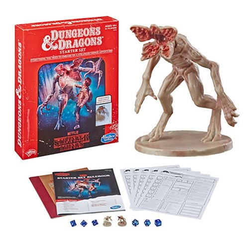 Stranger Things Dungeons & Dragons Roleplaying Game Starter Set Pre-order