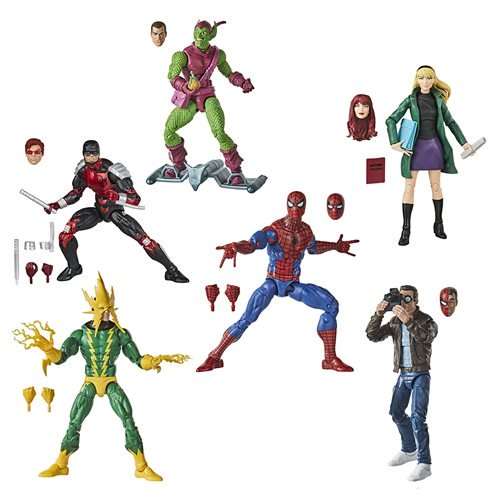Spider-Man Retro Marvel Legends 6-Inch Action Figures Wave 1