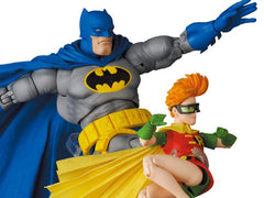 Batman: The Dark Knight Returns MAFEX No.139 Batman (Blue Ver.) & Robin