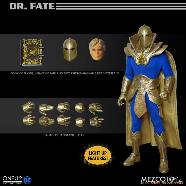 ONE-12 COLLECTIVE DC DOCTOR FATE By MEZCO TOYS