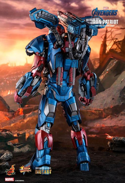 Avengers: Endgame MMS528D34 Iron Patriot 1/6th Scale Collectible Figure