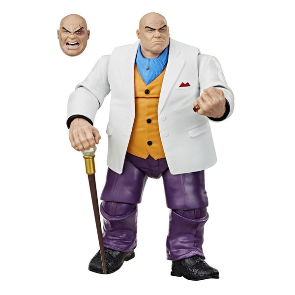 Spider-Man Marvel Legends Series 6in Kingpin AF Exclusive!