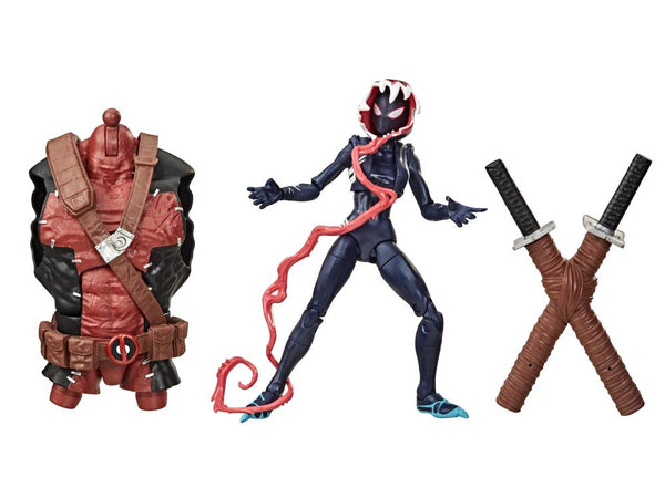 Venom Marvel Legends Wave 2 Set of 6 Figures (Venompool BAF)
