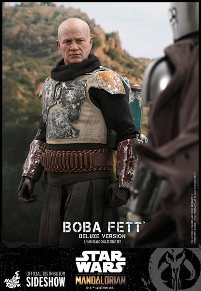 The Mandalorian Deluxe Boba Fett 1/6th Scale Collectible Figure Set