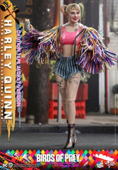 Birds of Prey MMS566 Harley Quinn (Caution Tape Jacket) 1/6th Scale Collectible Figure