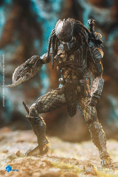 Alien vs. Predator Temple Guard Predator 1:18 Scale PX Previews Action Exclusive Figure