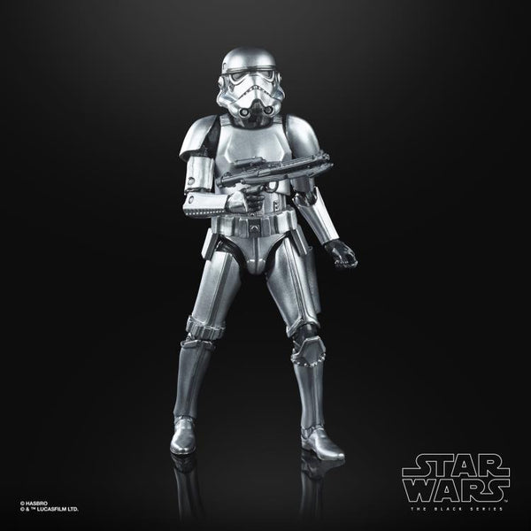 "Star Wars: The Black Series 6"" Stormtrooper (Carbonized)"