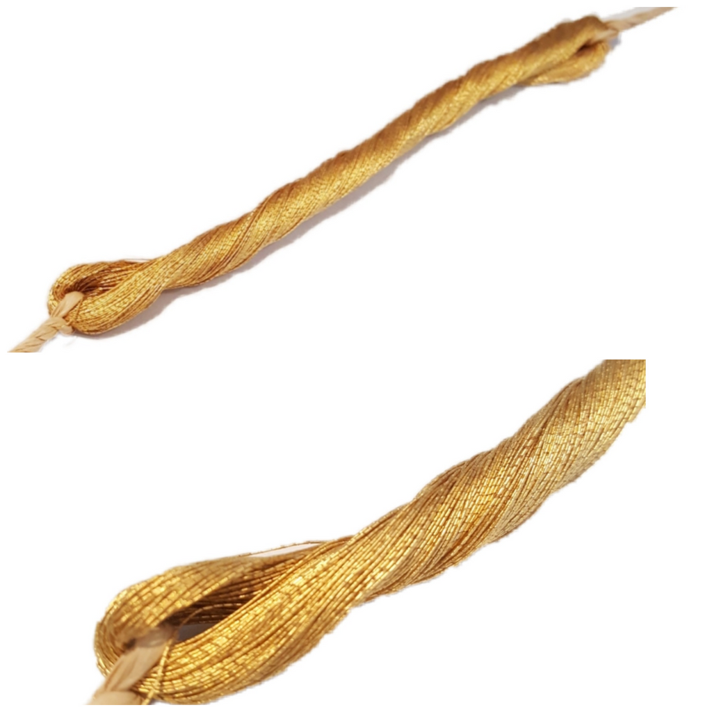 Gold Twisted Thread - #5